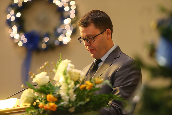 Funeral and burial for Tipton mayor Don Havens on Saturday, December 21, 2019.<br /> Kelly Lafferty Gerber | Kokomo Tribune