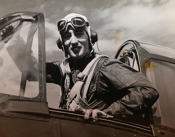 """Kokomo native Ensign Wright """"Billy"""" Hobbs was one of the last four men to die in World War II in the final Pacific air battle on August 15, 1945. Hobbs' story is the subject of a new book by John Wukovits called Dogfight Over Tokyo.<br /> Provided photo"""