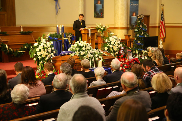 Funeral and burial for Tipton mayor Don Havens on Saturday, December 21, 2019.<br /> Kelly Lafferty Gerber | Kokomo Tribune
