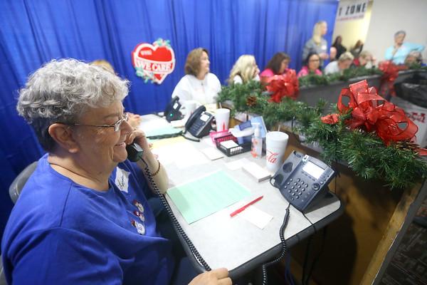 We Care telethon on Saturday, December 7, 2019.<br /> Kelly Lafferty Gerber | Kokomo Tribune
