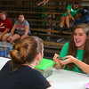 Kelsie Avery, 13, shows judge Renell Finke her turtle named Denny during the small animal show, on Tuesday, July 2, 2019. The small animal show was one of the Howard County 4-H Fair's pre-fair activities.<br /> Kelly Lafferty Gerber | Kokomo Tribune