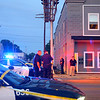 A man was shot in the head in the 800 block of North Main shortly after 9 p.m. on July 15, 2019.  He was taken to St. Vincent with a helicopter ready to transport.<br /> Tim Bath | Kokomo Tribune
