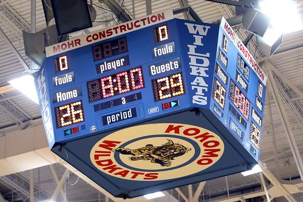 Kokomo Schools is working on a plan to replace the scoreboard at Memorial Gym.<br /> Tim Bath   Kokomo Tribune