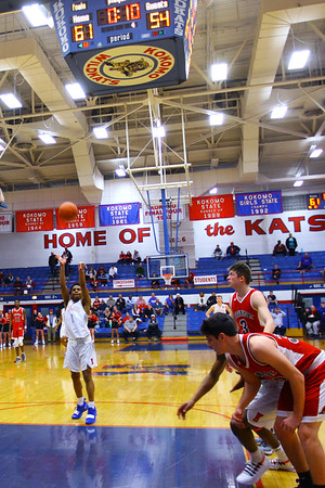 Kokomo Schools is working on a plan to replace the scoreboard at Memorial Gym.<br /> Tim Bath | Kokomo Tribune