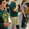 Austin Hewitt works on choreography he came up with for one of Eastern Middle School's choir performances on May 3, 2019.<br /> Kelly Lafferty Gerber | Kokomo Tribune