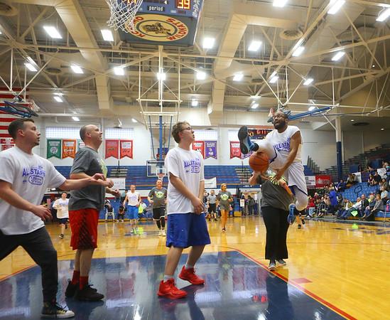 Disability awareness basketball game on Tuesday, March 12, 2019.<br /> Kelly Lafferty Gerber | Kokomo Tribune