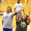 Disability awareness basketball game on Tuesday, March 12, 2019.<br /> Kelly Lafferty Gerber | Kokomo Tribune