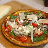 Grethel uses affordable ingredients that her audience in Nicaragua can find easily, and prepares easy-to-make dishes like this cauliflower-crusted pizza on Jan. 2.<br /> Kelly Lafferty Gerber | Kokomo Tribune