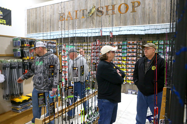 SoreMouth Tackle's grand opening at 1500 N. Reed Road inside the Kokomo Event Center on Saturday, March 30, 2019. Kelly Lafferty Gerber | Kokomo Tribune