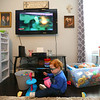 3-year-old Marcus Lively plays on the floor of his home on Feb. 16, 2019. Marcus was born with numerous health issues, including ones that affected his heart and respiratory system.<br /> Kelly Lafferty Gerber | Kokomo Tribune