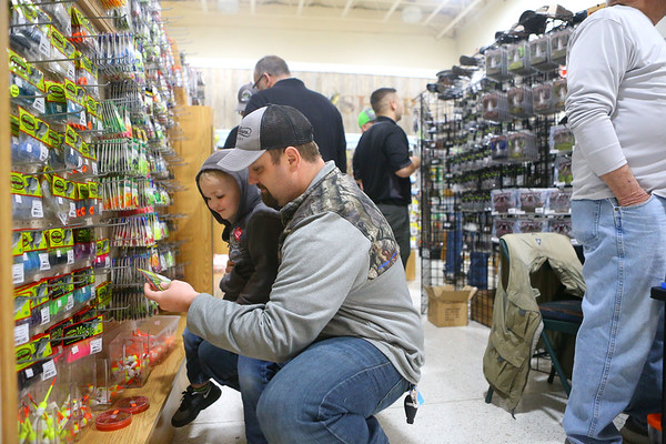 SoreMouth Tackle's grand opening at 1500 N. Reed Road inside the Kokomo Event Center on Saturday, March 30, 2019.<br /> Kelly Lafferty Gerber | Kokomo Tribune