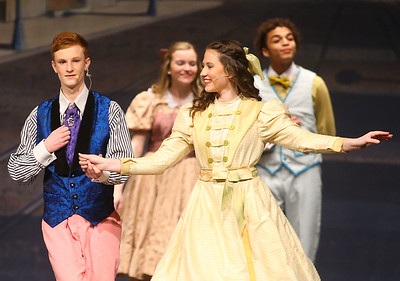 """Eastern junior and senior high students presented the musical """"Hello, Dolly!"""" on Friday, March 15, 2019. This year, 145 students made up the cast and crew.  Kelly Lafferty Gerber 