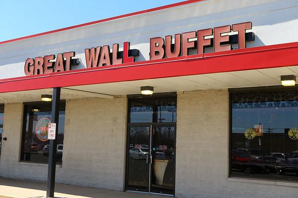 Great Wall Buffet on March 26, 2019.<br /> Kelly Lafferty Gerber | Kokomo Tribune