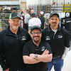 From left: Owners Aaron Hochstedler, Ty Kendall, and Jason Kiser during SoreMouth Tackle's grand opening at 1500 N. Reed Road inside the Kokomo Event Center on Saturday, March 30, 2019.<br /> Kelly Lafferty Gerber | Kokomo Tribune