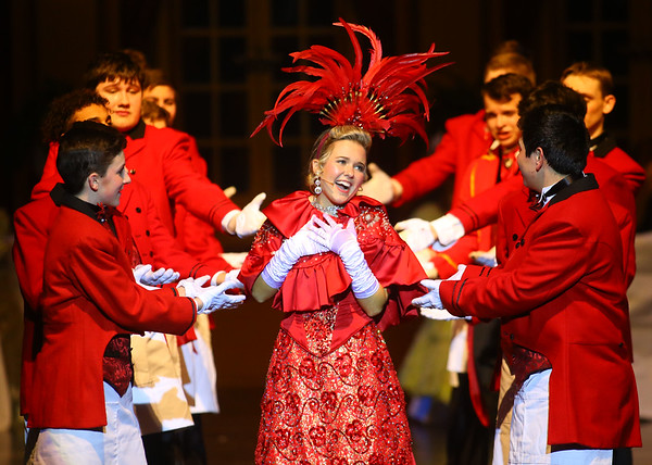 "Eastern junior and senior high students presented the musical ""Hello, Dolly!"" on Friday, March 15, 2019. This year, 145 students made up the cast and crew.  Kelly Lafferty Gerber 