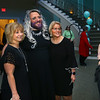 Bo Bolinger, center, one of the women of the Little Black Dress event, takes a photo with attendees at Bel Air on Friday, May 3, 2019, to benefit the Domestic Violence Shelter.<br /> Kelly Lafferty Gerber   Kokomo Tribune