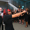 Ben Davis III makes an entrance during the Little Black Dress event at Bel Air on Friday, May 3, 2019, to benefit the Domestic Violence Shelter.<br /> Kelly Lafferty Gerber | Kokomo Tribune
