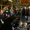 Daniel Smith takes a seat in the Greentown Road Kings' club build, a 1932 Ford Roadster, on April 27, 2019.<br /> Kelly Lafferty Gerber | Kokomo Tribune
