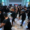 Attendees hit the dance floor of the Little Black Dress event at Bel Air on Friday, May 3, 2019, to benefit the Domestic Violence Shelter.<br /> Kelly Lafferty Gerber | Kokomo Tribune