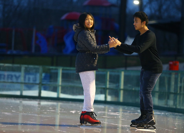 Opening night of The Frozen Sandlot on Tuesday, November 26, 2019.<br /> Kelly Lafferty Gerber | Kokomo Tribune
