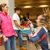 Anne Oren, left, dances with Abby Higgins during Bona Vista's Let's Glow 80's Crazy Dance at UAW 685 on Friday, November 15, 2019.<br /> Kelly Lafferty Gerber | Kokomo Tribune