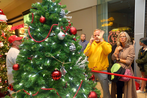 We Care tree auction on Sunday, November 10, 2019.<br /> Kelly Lafferty Gerber | Kokomo Tribune