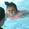 Taylor Elementary kindergarten students learn to swim at the YMCA on Thursday Nov. 14, 2019.<br /> Tim Bath | Kokomo Tribune