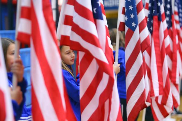 Central Middle School Veterans Day Program on Monday Nov. 11, 2019.<br /> Tim Bath | Kokomo Tribune