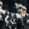 Paige Mcglaughlan plays the clarinet as the Western Marching Panthers perform in the ISSMA Class C state championship on Saturday, November 9, 2019. The Marching Panthers won the Class C championship.<br /> Kelly Lafferty Gerber | Kokomo Tribune