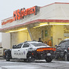 An armed robbery occurred about 4:50 p.m. on Monday Nov. 11, 2019. Two black male with masks on and guns were seen fleeing south and getting in a Crown Vic and a Honda.<br /> Tim Bath   Kokomo Tribune