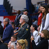 Veterans stand while being recognized during the Central Middle School Veterans Day Program on Monday Nov. 11, 2019.<br /> Tim Bath   Kokomo Tribune