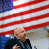 Guest speaker veteran Rick Filip talks about what sacrafices his family has made during his life long service to this country at the Central Middle School Veterans Day Program on Monday Nov. 11, 2019.<br /> Tim Bath | Kokomo Tribune