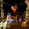 We Care Park lights on the first night of the season on Thursday November 28, 2019. The switch was thrown at 6 p.m. by Cheyanne and Cierra Keown in memory of their brother Chad who died 2 years ago.<br /> Tim Bath | Kokomo Tribune