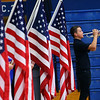 Alejandro Reyes plays Taps along with Alona Smith(not pictured) during their Central Middle School Veterans Day Program on Monday Nov. 11, 2019.<br /> Tim Bath   Kokomo Tribune