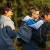 8-year-old Jeremiah Sewell gets a piggyback ride from his mom Keirstin Sewell as Jeremiah's grandma Sabrina Schwartz walks with them during Western School Corporation's first ever Buddy Walk for Down Syndrome on Saturday, Oct. 5. All proceeds from the event will go toward Project Playground, which aims to build an inclusive playground for special needs children and their peers.<br /> Kelly Lafferty Gerber | Kokomo Tribune