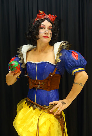 Elysia Vaughan from Logansport as steampunk Snow White at Kokomo-Con on Saturday, October 12, 2019.<br /> Kelly Lafferty Gerber | Kokomo Tribune