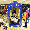 8-year-old Emery Smith dressed as Zoltar the fortune teller for the Kids Community Halloween Party at the Kokomo Event Center on Saturday, October 26, 2019.<br /> Kelly Lafferty Gerber | Kokomo Tribune