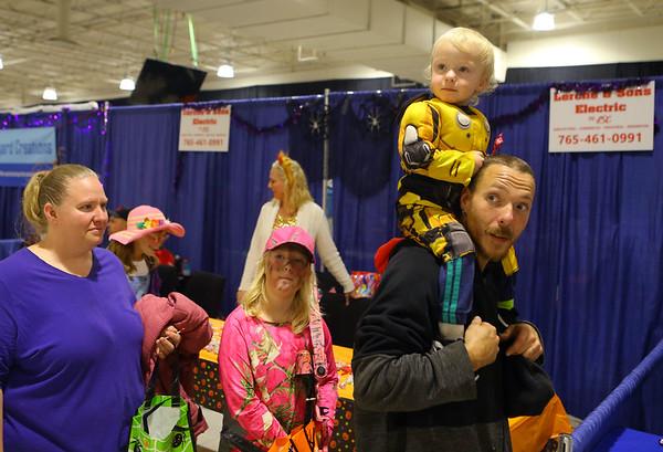 Kids Community Halloween Party at the Kokomo Event Center on Saturday, October 26, 2019.<br /> Kelly Lafferty Gerber   Kokomo Tribune