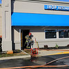 Kokomo firefighters responded to a fire at IHOP Restaurant on Wednesday Oct. 23, 2019. The dispatch came over as smoke coming from the wall and that they were evacuating the building. Smoke and water damage will leave it closed for a number of days for repairs.<br /> Tim Bath | Kokomo Tribune