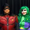 Kokomo's Brian Duke as Robin and Kokomo's Michaela Nolder as the Joker at Kokomo-Con on Saturday, October 12, 2019.<br /> Kelly Lafferty Gerber | Kokomo Tribune