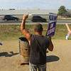 The GM strike is into it's fifth week as employees strike in front of the plant on Indiana 931 on Tuesday, October 15, 2019.<br /> Kelly Lafferty Gerber | Kokomo Tribune