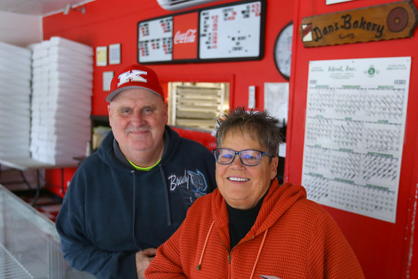 Donnie and Sheila Hayworth have a scholarship in the name of their father, Dan Hayworth, that they are looking for recipients of on Oct. 31, 2019. Tim Bath | Kokomo Tribune
