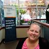 Amber Dyson is going through treatments for cancer at Community Howard on Oct. 24, 2019. <br /> Tim Bath | Kokomo Tribune