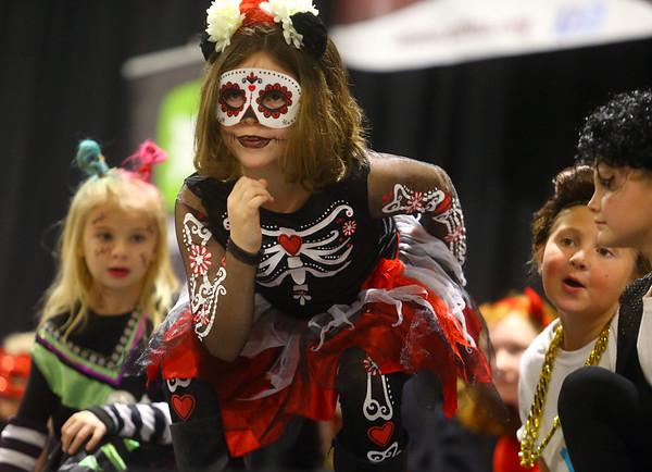 Kids Community Halloween Party at the Kokomo Event Center on Saturday, October 26, 2019.<br /> Kelly Lafferty Gerber | Kokomo Tribune