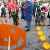 Kids play games during the Masquerade-themed First Friday on Oct. 4, 2019.<br /> Kelly Lafferty Gerber | Kokomo Tribune
