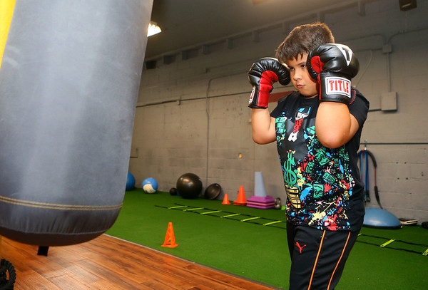 IronFist Boxing Club on Wednesday, October 16, 2019.<br /> Kelly Lafferty Gerber | Kokomo Tribune
