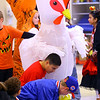 Eastern Elementary School students parade through the halls in front of each other and their parents dressed in Halloween costumes on Oct. 31, 2019.<br /> Tim Bath   Kokomo Tribune
