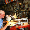 Jim Bowman  in a toymaker and woodworker who lives in Amboy, Indiana on  Oct. 1, 2019. <br /> Tim Bath | Kokomo Tribune