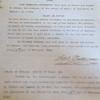 The original deed to Westleigh Farms in Peru, Indiana.<br /> Kelly Lafferty Gerber | Kokomo Tribune