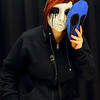 Jadus Hayden from Kokomo as Eyeless Jack from Creepy Pasta at Kokomo-Con on Saturday, October 12, 2019.<br /> Kelly Lafferty Gerber | Kokomo Tribune